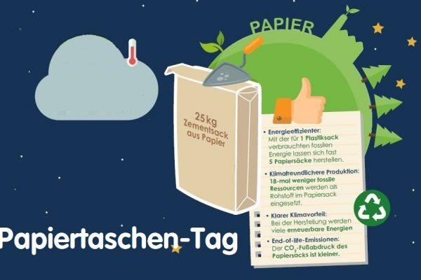 Am 18. Oktober ist erster Europäischer Tag der Papiertragetasche