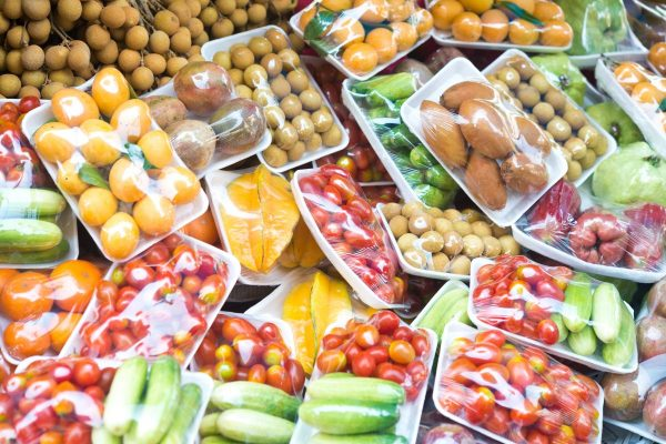 29% der Supermarktverpackungen können nicht recycelt werden