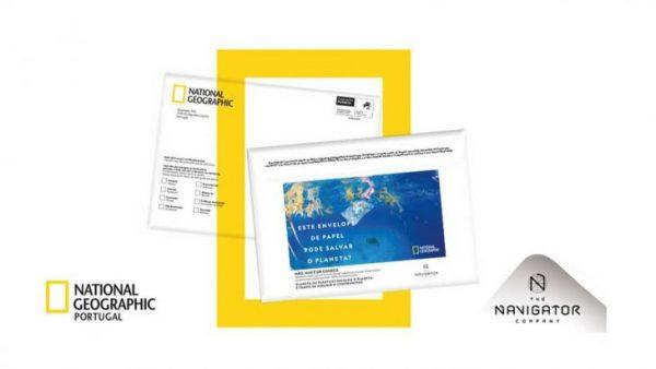 Navigator und National Geographic bringen umweltfreundliche Briefumschläge auf den Markt