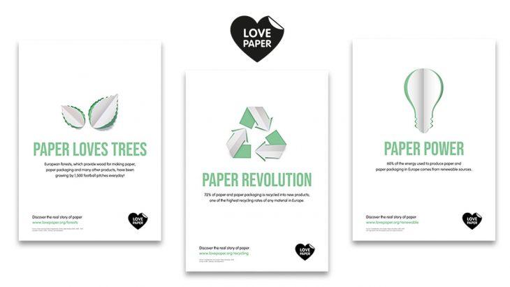 """Two Sides relauncht die """"Love Paper""""-Kampagne mit neuem Verbraucher-Fokus"""