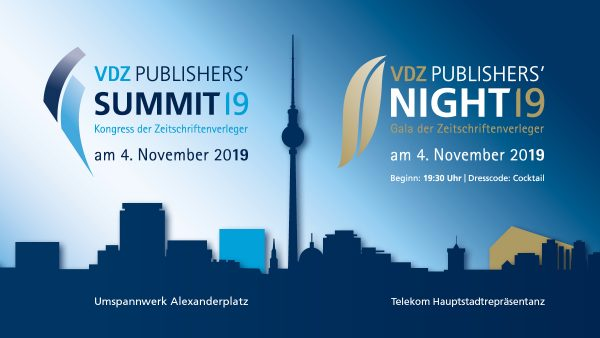 VDZ Publishers' Summit & Publishers Night