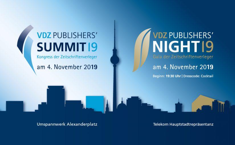 VDZ Publishers' Summit & Publishers Night