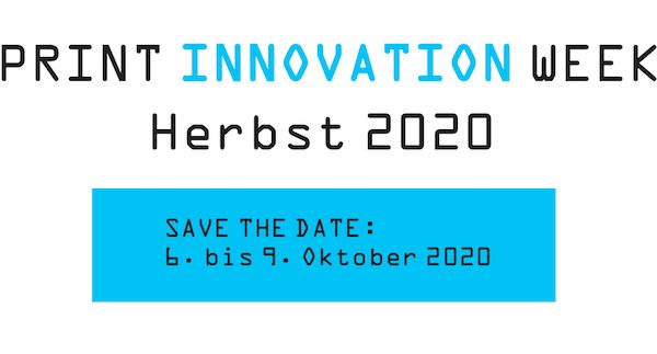 PRINT INNOVATION WEEK 2020