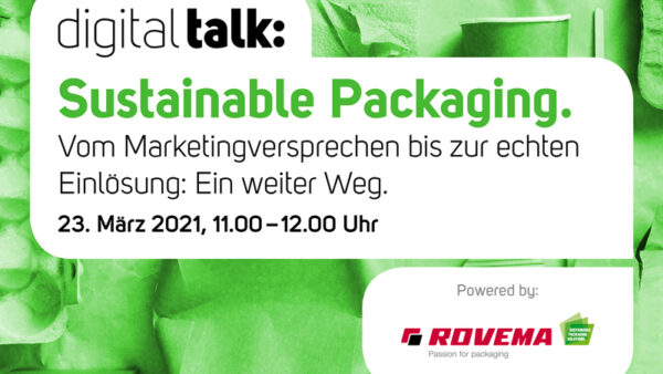 Digital Talk: Sustainable Packaging